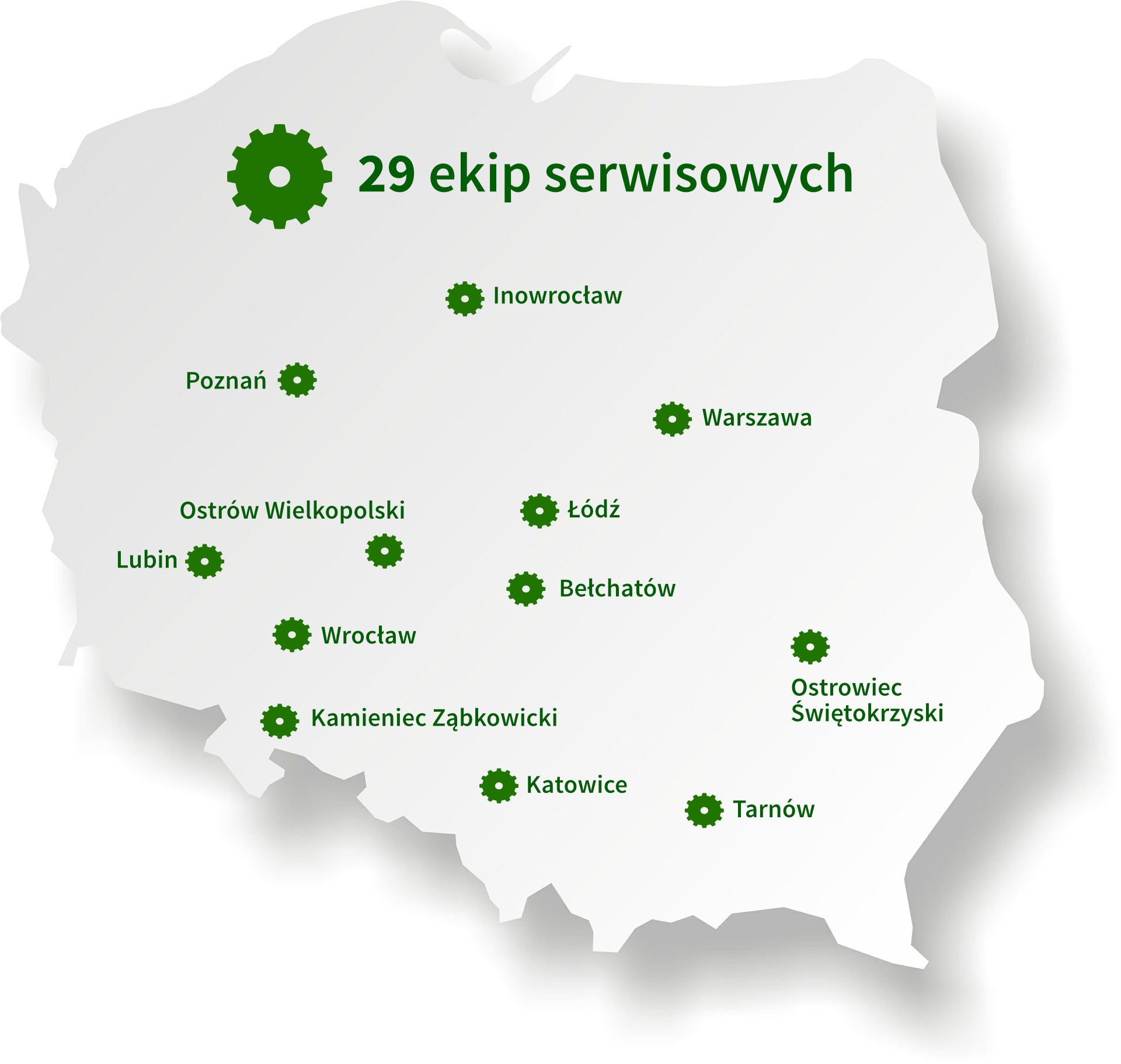 mapa ekipy serwisowe SOT